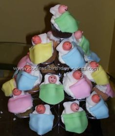 Baby Shower Cakes... what a cool cake!  visit http://www.coolbabyshowergifts.com
