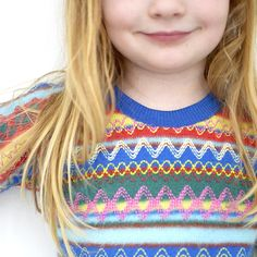 I found this insane sweater knit near the Riley Blake knits at JoAnn fabric. It's sort of hideous, but really cool. I was a bit bummed at the price tag of $20 a yard (you know how I am), but …