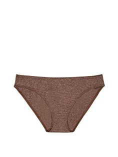 5864bc78d7d Victoria s Secret Everyday Perfect Bikini Panty Champagne Cola Marl (Small)  at Amazon Women s Clothing store