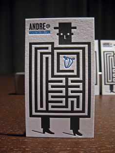 Andre da Loba Business Cards by dolcepress, via Flickr