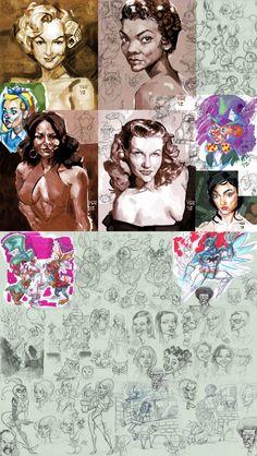 *-*ArtStation - 2012 sketches 2, Victor Roa