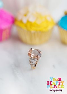 Can't get enough of this mesmerizing Morganite ring! #Sweepstakes  Pin an image of your favorite jewelry, and you could win a $250 JTV SHOPPING SPREE