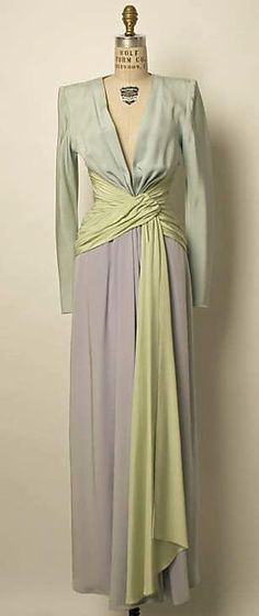 Evening Dress - Yves St. Laurent c, 1975