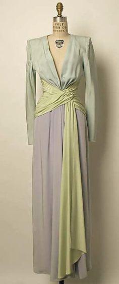 Evening dress 1985 YSL