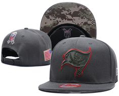 NFL NEW Tampa Bay Buccaneers Salute to Service New Era Straight Snapback Hat  Mlb Baseball Caps e80d94895