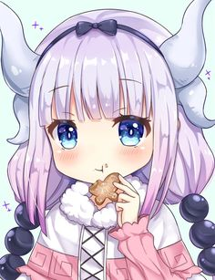 Maid Dragon, Kanna, by Sunameri