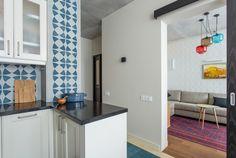Трёхкомнатная квартира в стиле модерн на «Октябрьском поле». Изображение №8.