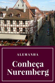 Praças, pontes e descontração. Histórias, rua e cerveja. Fragmentos da linda Nuremberg.