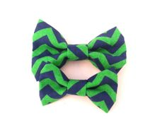 Cat Bow Tie / XS Dog Collar Addon Accessory  Navy by TheEmPURRium, $4.50