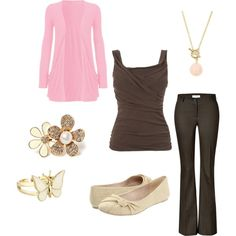Fun business dress, created by christymoeder2011 on Polyvore