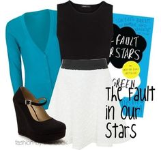 The Fault in our Stars, Book Cover Outfit