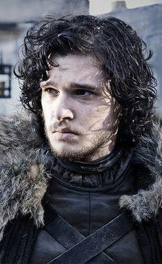The Official Jon Snow in the Game of Thrones is Kit Harington . Updated June 2011 : Kit Harington is doing a great job as Jon Snow - very. Catelyn Stark, Ned Stark, Bran Stark, John Snow, Cersei Lannister, Daenerys Targaryen, Khaleesi, Kit Harington, Film Scene