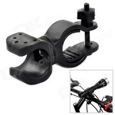 CoolChange Outdoor Cycling Mountain Bike Top Tube Mount Clip - Black Price: $4.40