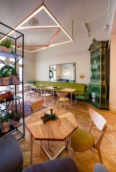 nice Simbio Kitchen & Bar in Bucharest Emerges In Charming Old Building