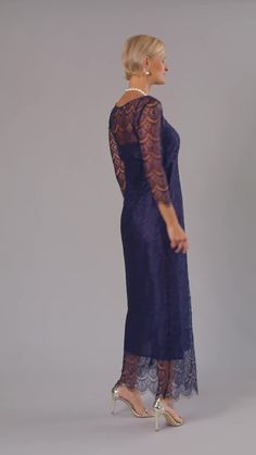 Living Silk - specializing in long, tea length and knee length lace dresses and two piece outfits with sleeves for the modern and elegant mother of the bride and mother of the groom at a beach, boho, garden, rustic, country, cocktail or formal wedding in Spring / Summer or Fall / Winter | Mother of the Bride / Groom Dresses #livingsilk #motherofthebridedresses #motherofthegroomdresses #celebrateinsilk #puresilk Mother Of Groom Dresses, Bride Groom Dress, Groom Outfit, Summer Mother Of The Bride Dresses, Fall Dresses, Evening Dresses, Summer Dresses, Formal Wedding, Wedding Rustic