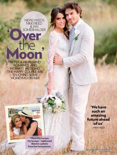 Newlyweds Nikki Reed and Ian Somerhalder 04/26/15