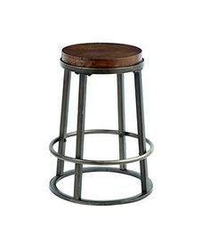 Glosco - Medium Brown - Stool (Set of by Signature Design by Ashley. Get your Glosco - Medium Brown - Stool (Set of at Urban Styles, Indianapolis IN furniture store. Metal Counter Stools, Metal Stool, Wood Stool, At Home Furniture Store, Fine Furniture, Dining Room Bar, Dining Decor, Modern Stools, Furniture Inspiration
