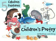 Poetry can be FUN when you teach kids to listen for words and sounds that make children's poetry special! #nationalpoetrymonth