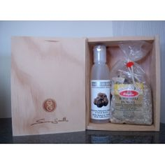 Simon Gault Polenta Gift set  $25.30 NZD     A pleasant gift box for a splendid Italian experience.    1 x 300gr Italian Polenta Mix    (Ready to use italian Polenta Mixture  with easy to follow instructions)    1 x 100ml White truffle balsamusse Italian Polenta, White Truffle, Gift Hampers, Truffles, Hunting, Box, Easy, Gifts, Gift Baskets