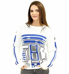 Be the coolest guy in the galaxy in this #R2D2 #costume knitted #StarWars #jumper! Any fan will be overjoyed to become this droid! xoxo