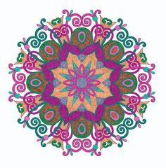 Creatie 2016 26 20 11 Bloemen Mandalas Kruidvat Met
