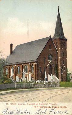 St Johns church Port Richmond