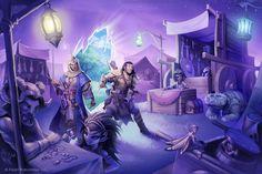 Pathfinder: Fey-world Market by WillOBrien.deviantart.com on @DeviantArt