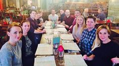 Team lunch Las Iguanas to welcome Nick and Ella #LifeatZeal (2015)