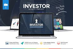 Investor Pitch Deck Keynote Template @creativework247