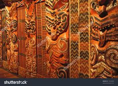 Wood carving patterns Stock Photos and Images. Wood carving patterns pictures and royalty free photography available to search from thousands of stock photographers. Driftwood Sculpture, Sculpture Art, Sculptures, Pattern Pictures, Pattern Images, Maori Art, Wood Carving Patterns, Wood Stairs, Bone Carving