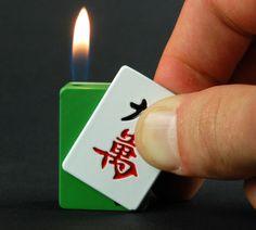 Mah Jong Tile Lighter!