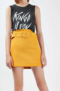 80's Paperbag Pelmet Skirt