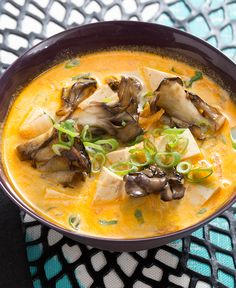 A classic Southeast Asian dish: bright, tangy flavors make this soup hot and sour - with a rich, coconut finish.