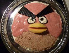 Angry Birds -kakku by Matleena Laakso, via Flickr