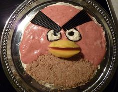 Angry Birds -kakku by Matleena Laakso, via Flickr