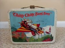 Vintage Chitty Chitty Bang Bang Metal Lunchbox/Lunch Box and Thermos.  1968