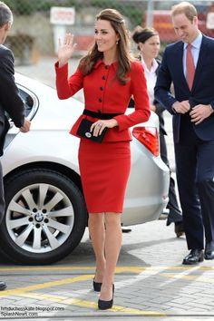 Duchess Kate: The Duke and Duchess of Cambridge visit Christchurch