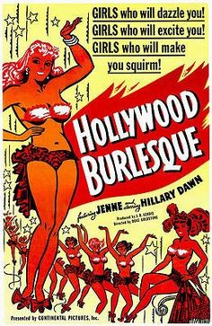 Hollywood Burlesque - 1949 - Movie Poster