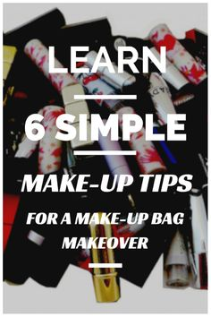 makeup tips and tricks Learn 6 simple makeup tips for makeup bag ... Interesting ... Love this makeup brushes gift set. Pearl handles and white leather vanity case. Elegant boutique makeup brush set ...