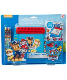 Buy Paw Patrol Deluxe Roll and Go Art Case at Argos.co.uk - Your Online Shop for Arts, crafts and creative toys, Pre-school, 2 for 10 pounds on Toys.