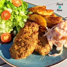 Low Syn KFC Fakeaway | Slimming World - http://pinchofnom.com/recipes/low-syn-kfc-fakeaway/