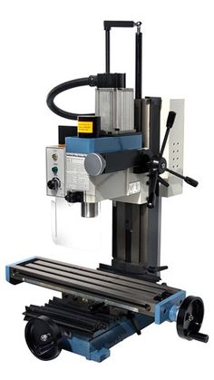 HiTorque Mini Mill, Solid Column with Air Spring