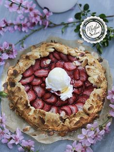 Galette Mamma Mia, Quiche, Strudel, Homemade Beauty Products, Food Network Recipes, Feta, Camembert Cheese, Tart, Cheesecake