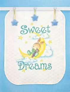 Dimensions Needlecrafts Stamped Cross Stitch, Sweet Dreams Quilt