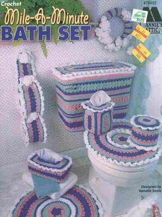 Mile a Minute Bath Set « Os Crochês da Cristina
