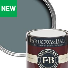 Farrow & Ball Estate De nimes Eggshell Metal & wood paint, - B&Q for all your home and garden supplies and advice on all the latest DIY trends Eggshell Paint, Paint Stain, Farrow Ball, Egg Shells, Garden Supplies, Coffee Cans, Painting On Wood, Villas, Master Bedroom