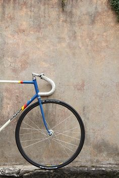 old Raleigh track bike