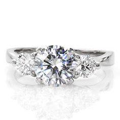 Contour Trellis - Knox Jewelers - Minneapolis Minnesota - Classic Engagement Rings - Three Stone, Trellis