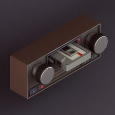 '30 isometric renders in 30 days' Round 2 by Michiel van den Berg, via Behance