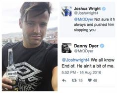 Did Mark Wright And Danny Dyer Have A Physical Fight?!